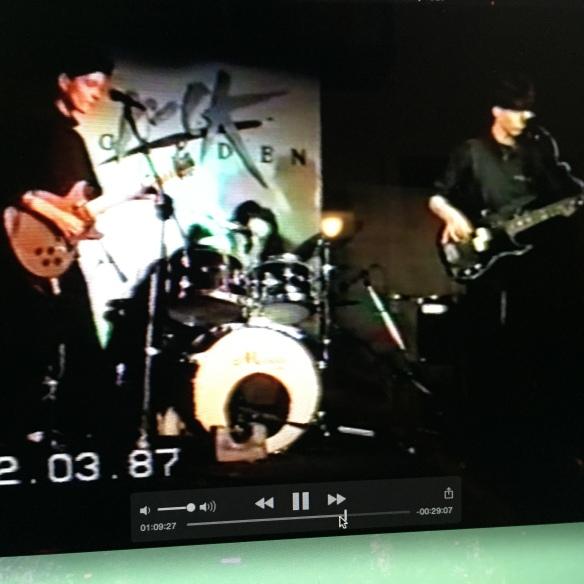Rock Garden 1987, last gig