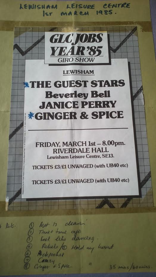 Ginger and Spice poster