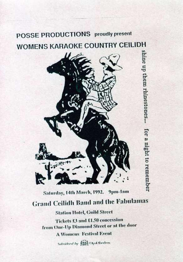 Women's Festival flyer